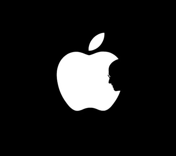 Thanks, Steve: Apple Logo Turned Into Touching Tribute to Steve Jobs | Bored Panda
