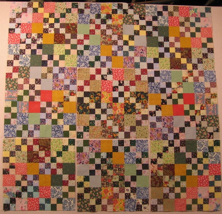 35 best Nine patch quilts images on Pinterest | Antique quilts ... : double nine patch quilt - Adamdwight.com