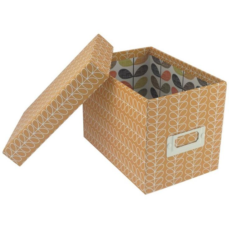Orange CD / DVD Storage Box