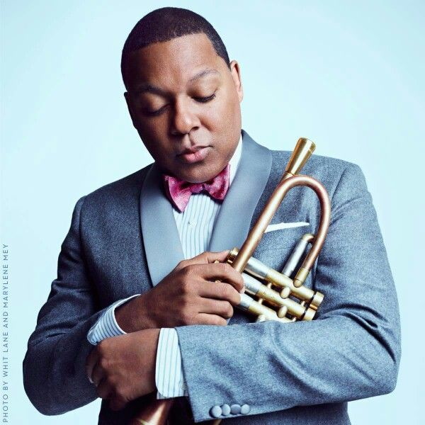 "Wynton Marsalis (I met Wynton Marsalis many years ago in Ann Arbor. A friend urged me to come out to meet him, at a tiny record store where he was signing records. My friend - who was a formidable African-American woman - marched up to Wynton and, to my shock, said ""Now, young man, don't get involved with those drugs."" And, Wynton, recognizing my friend for the formidable woman she was said, ""No, Ma'am."" And, as far as I know, he never did)"