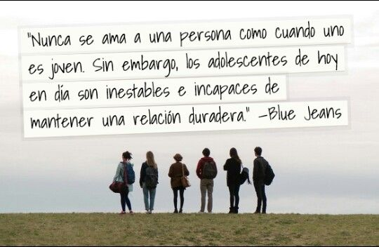 El club de los incomprendidos ~Blue Jeans~ ♥