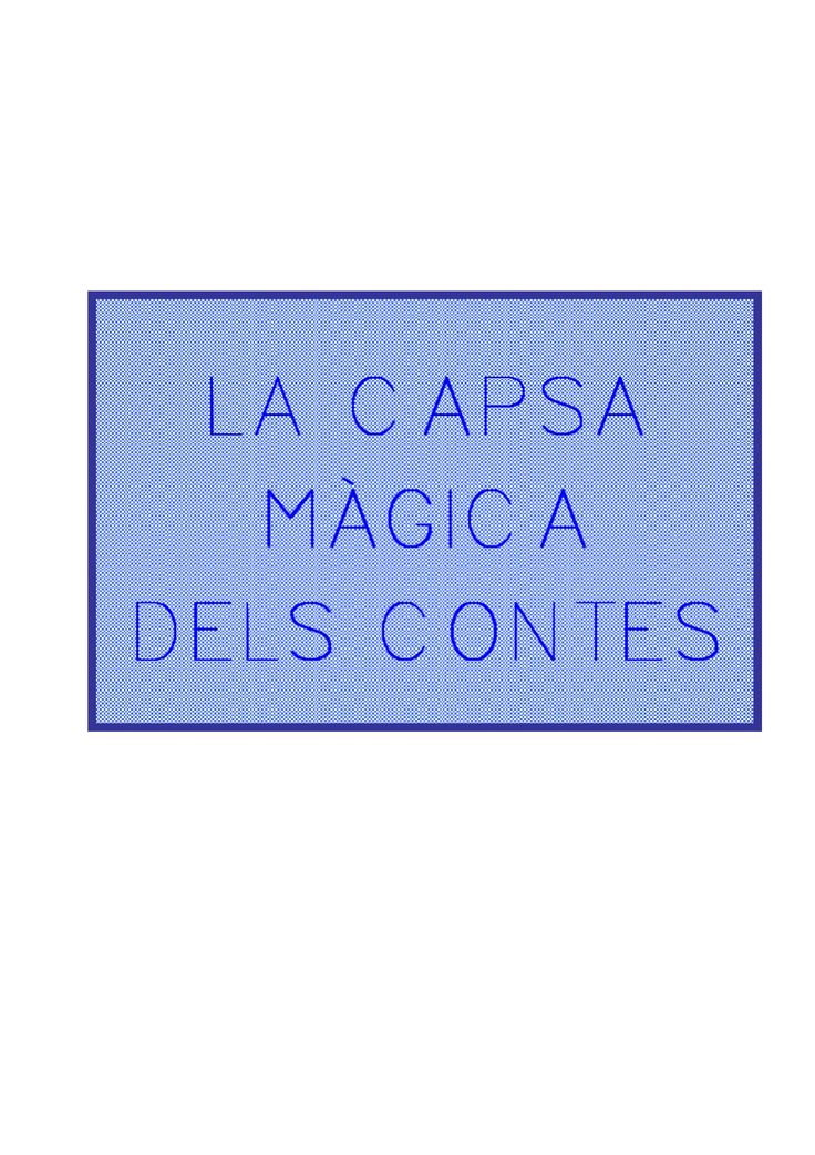 La capsa màgica dels contes  Joc de cartronet per montar una capsa de confegir contes