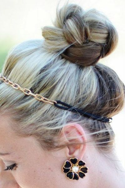 top knot hair style 1111 best images about updos amp ponytails on 5643 | 3fe396f6aa2e5ff8a26730697e9f727d top knot hairstyle headband hairstyles
