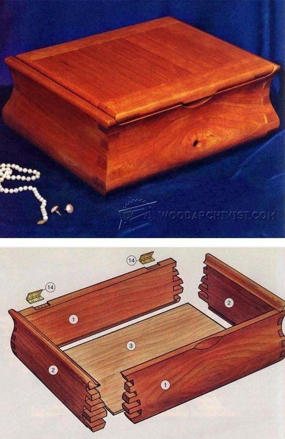 The 25 best Woodworking simple jewellery box ideas on Pinterest
