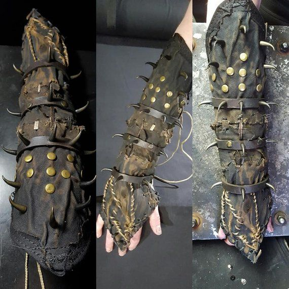 Satan's Claw SceneSick Post Apocalypic Witch Heavy Metal Claw Spikes Cosplay…