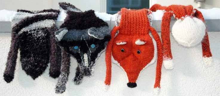 Fuchsschal und Wolfschal von Knitulator: Kostenlose Anleitung unter www.Knitulator.com  #Tierschalstricken #Fuchs #Wolf #stricken #Schalstricken #Wollschalstricken #Wolle #Wollreste #Strickapp #kostenloseAnleitung #Anleitung #knitting, #scarf #shawl #wool #yarn #knittedscarf #knittedshawl #animalscarfs #fox #wolfe #knittingapp www.knitulator.com