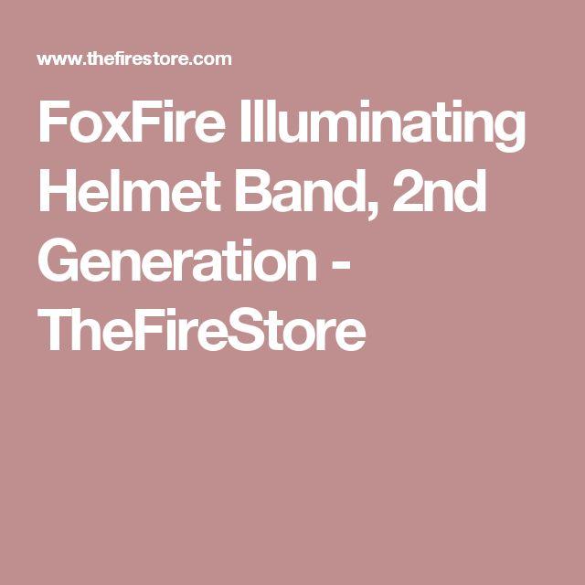 FoxFire Illuminating Helmet Band, 2nd Generation - TheFireStore