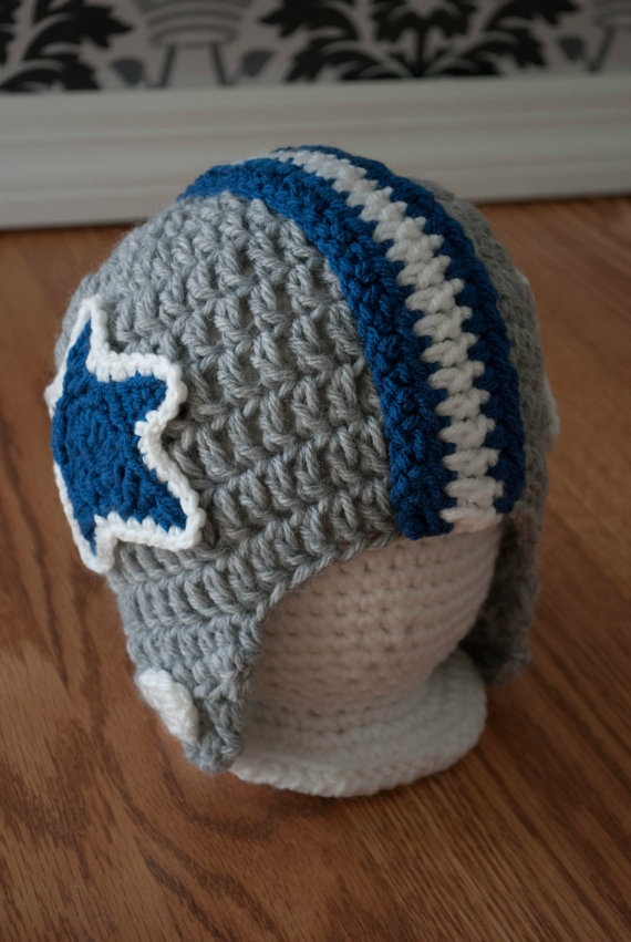 Dallas Cowboys Crochet Baby Hat Pattern : 17 Best images about crochet on Pinterest Crocheted baby ...