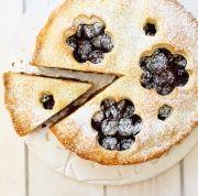 Gluténmentes meggyes pite Zelleitündi módra
