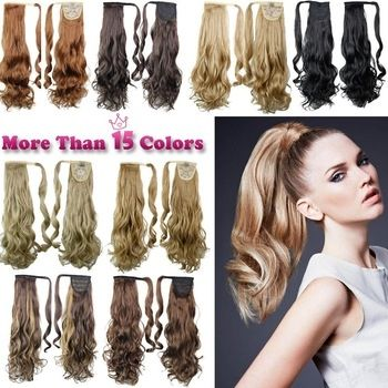 How To Take Care Of Synthetic Hair Pieces? 22 Synthetic Hair Long Wavy Clip In Ribbon Ponytail Hair
