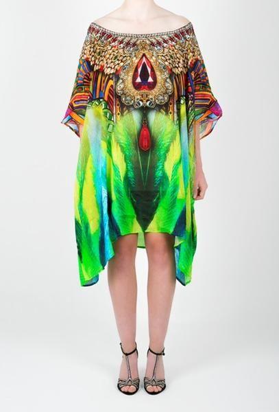 Embellished Kaftan Dress Design KC-SK107-S