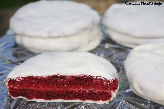 Red Velvet Moon Pies