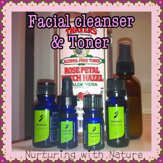 Nurturing with Nature: DIY Facial Cleanser & Toner in 1, PLUS a Spark Naturals Spot Treatment blend
