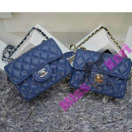 Купить сумку Chanel (Шанель) 2.55 mini blue, цена, интернет магазин в Украине и России
