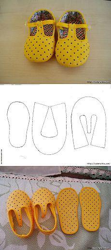 Deslizadores de los niños Y SUS zapatillas patrón de clase RUKAMI.MASTER. | Varvarushka-modista