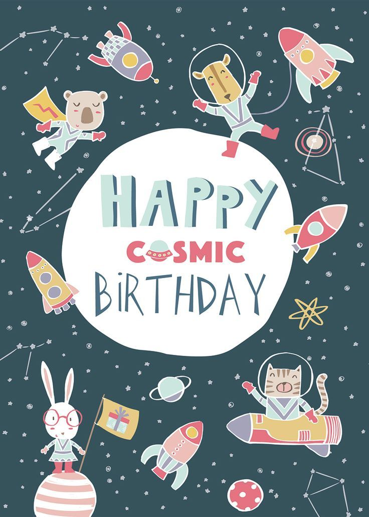 Advocate Art London Marbella New York Happy Birthday Illustration Happy Birthday Cards Happy Birthday Greetings