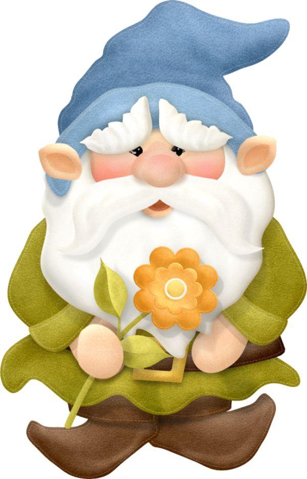 504 best CLIP ART - GNOMES - CLIPART images on Pinterest ...