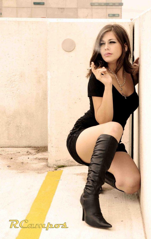 Trisha Moyer | Smokin' by TGirl37373.deviantart.com on @DeviantArt