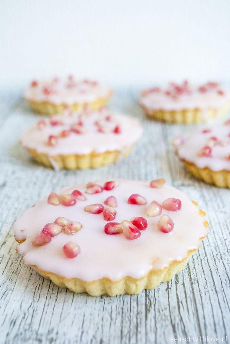 Granaatappel roze koeken - Season with love