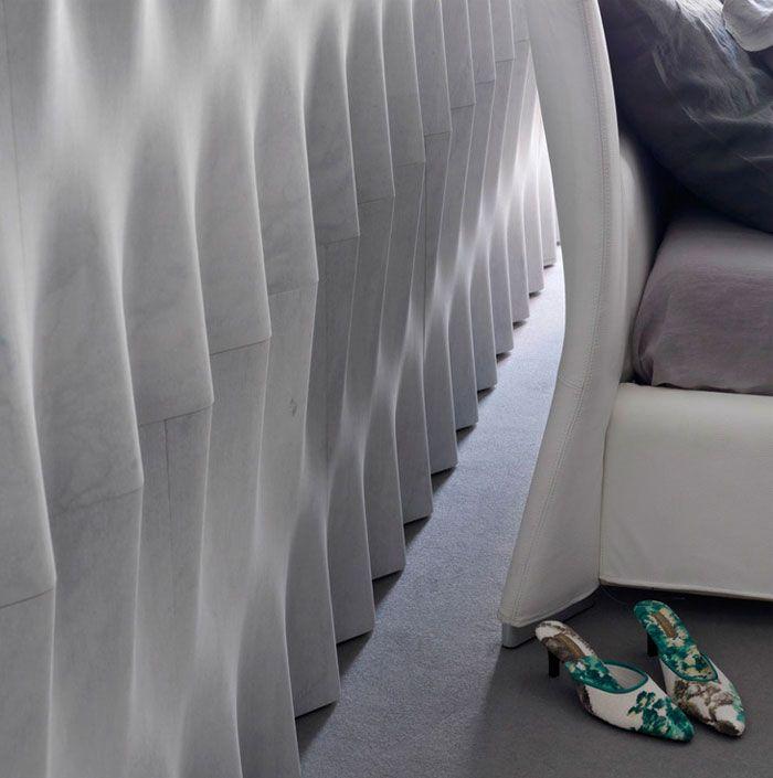 Drappi di Pietra selected for the International Design