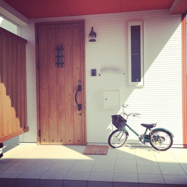 玄関ドア/ポスト…などのインテリア実例 - 2013-05-03 17:25:54