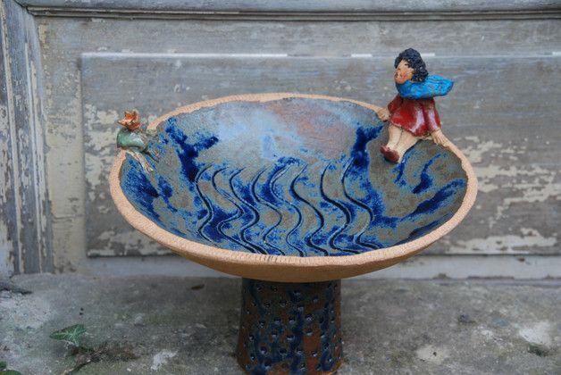 Keramik Vogeltranke Vogeltranken Garten Floristik Mit Liebe Handgemacht In Andernach Namedy Deutschland Von Hand Gebaut Keramik Topferarbeiten Keramik