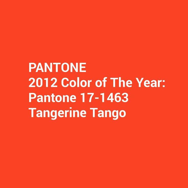 One Of Pantone 2015 Colouroftheyear Pantone 2012 Color