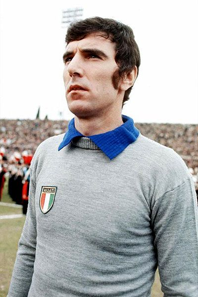 Dino Zoff: Juventus and Italy. Perhaps the greatest goalkeeper of all time. Captained the Italians to World Cup victory in 1982, becoming the oldest ever player to win a World Cup at the age of 40 years, four months and 13 days