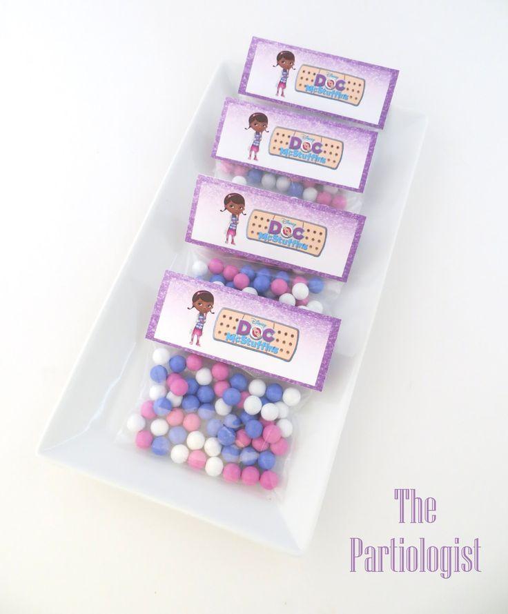 The Partiologist: Doc McStuffins!  Free Printable Topper!