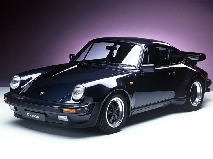1985 911 Turbo Black.