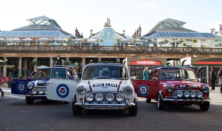 The Iconic Mini Cooper Experience: Drive through the streets of London in the classic Mini Cooper for an unforgettable sightseeing tour for parents and children.