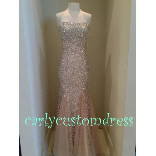 Long Silver Sequins Mermaid Bridesmaid Dress/Cheap Gold Coral Peach Red Black Prom/Homecoming/Party/Cocktail/Evening Wedding Party Dress on Etsy, $129.99