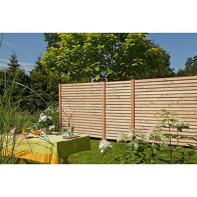 Kiehnholz Sichtschutzelement Rhombus 179 X 179 Cm Natur Bauhaus Sichtschutz Gartengestaltung Gartentreppe