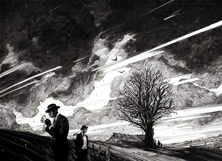 494 best .Illustration- Black & White images on Pinterest ...