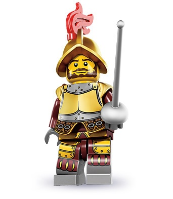 LEGO 8883 Minifigures Series 8, Conquistador