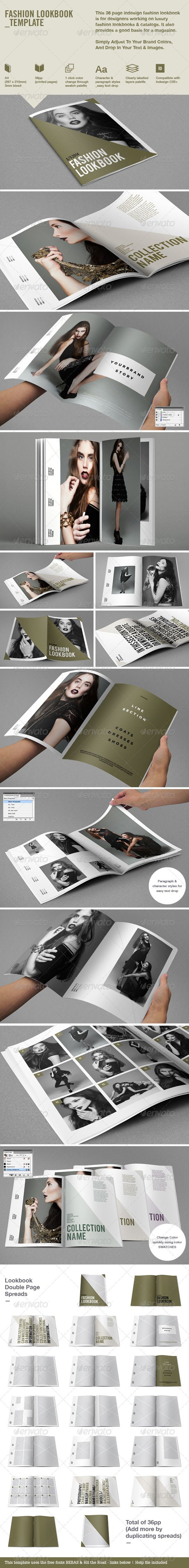 Fashion Lookbook - Nice Layout