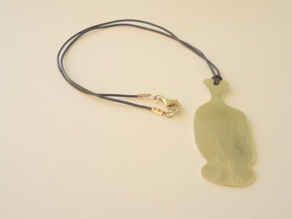 Silver+Necklace++Short+Necklace++Cycladic+by+knittedjewelryart
