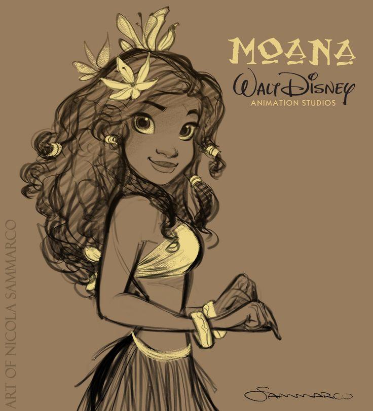 Moana - Disney Princess Fan Art (38133997) - Fanpop