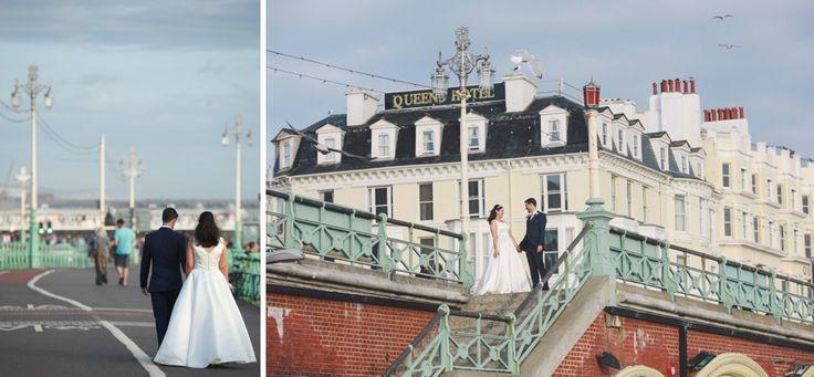 Wedding ceremony and reception at Hotel Du Vin in Brighton