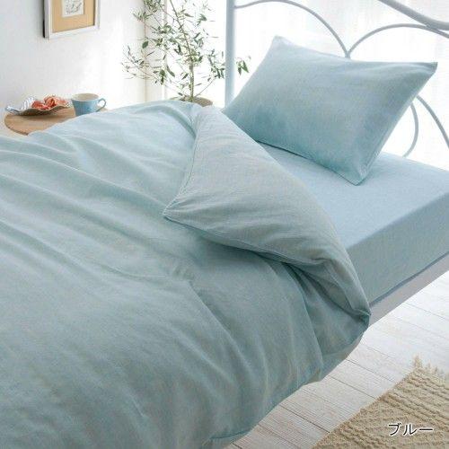 綿混洗いざらし素材の布団カバー(単品・セット)|通販のベルメゾンネット