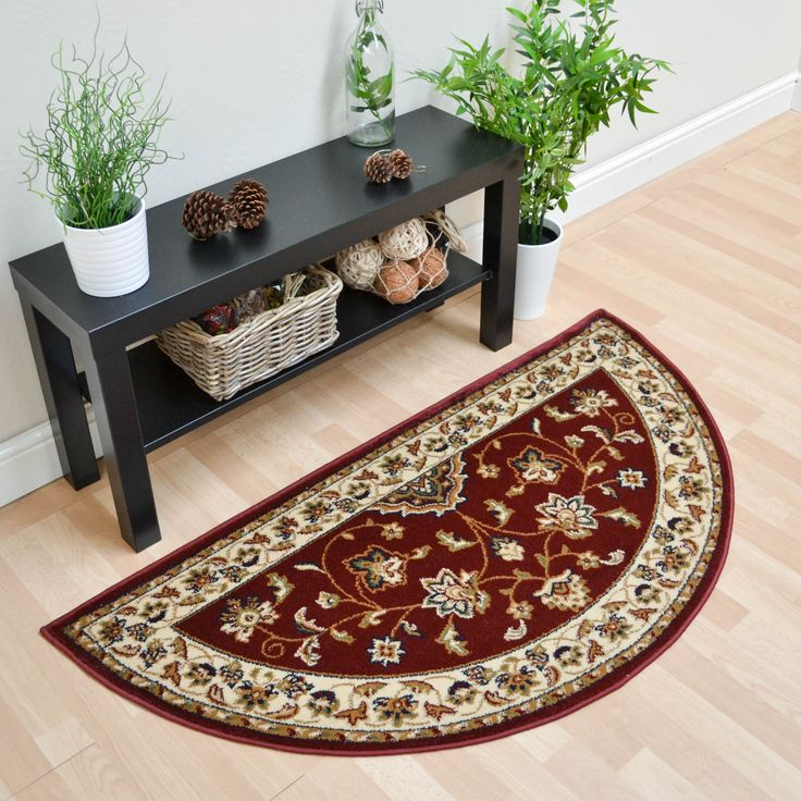 Our Half Moon Rugs are handmade to high standards by experienced weavers in  China or India.
