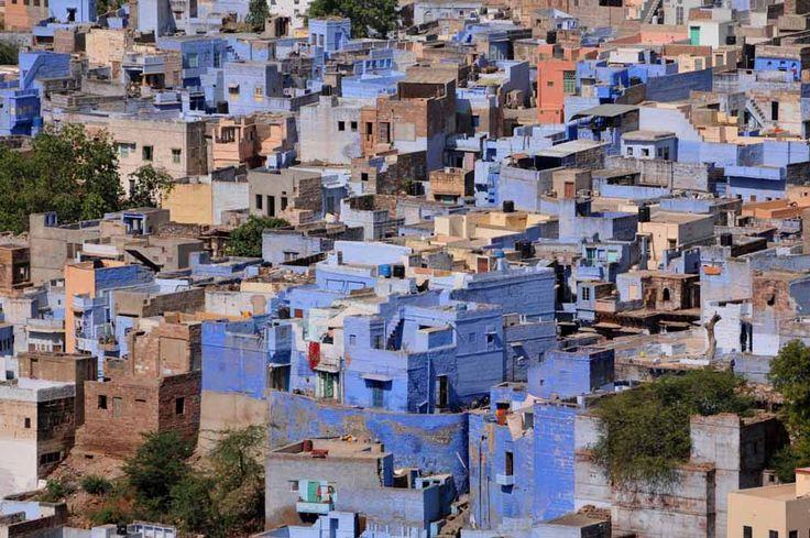 Η μαγική μπλε πόλη της Jodhpur στην Ινδία