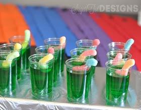 sugartotdesigns: Teenage Mutant Ninja Turtle Party @Leanne girard cute treat for brode if he decides on TMNT