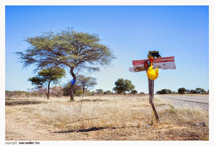 On the road to Kang, Botswana  Ivan Muller, the lazy travel photographer