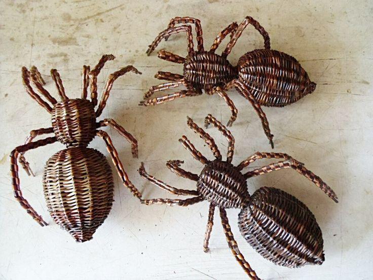 Плетёный паук МК Клещ Е.В. – 31 фотография