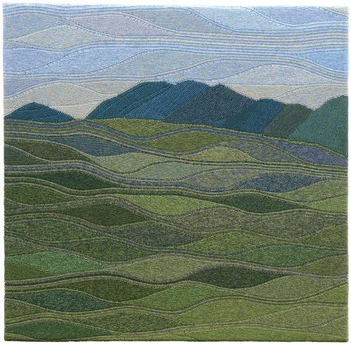 Mountains knit tapestry ? / Вязание в технике Свинг - Ярмарка Мастеров - ручная работа, handmade