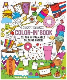 Color-In' Book: Happy Snacks at Black Wagon at Black Wagon