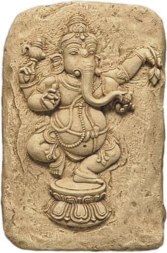 Angkor Wat Dancing Ganesh Relief - GANESH STATUES