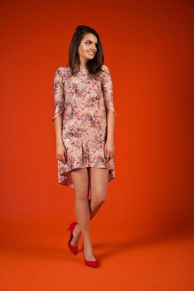 sukienka Flower In The City w NG - Natalia Gorzołka  na DaWanda.com