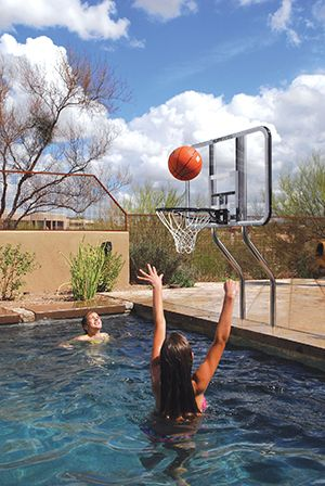 pool shark pool basketball hoop